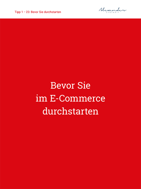 eBook 77 Tipps im E-Commerce